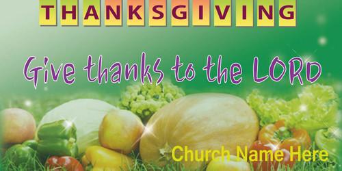 Thanksgiving Banner 524