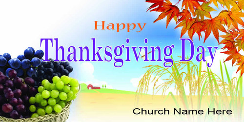 Thanksgiving Banner 528
