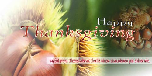 Thanksgiving Banner 529