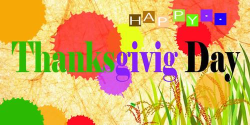 Thanksgiving Banner 531