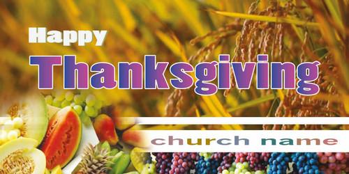 Thanksgiving Banner 532