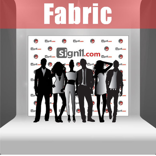 Fabric Step and Repeat Banner Backdrop 10'x8'