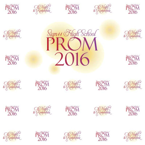 Prom Step and Repeat 1074