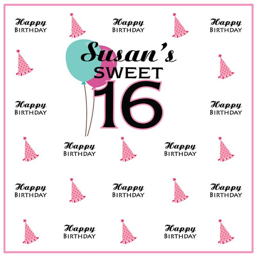 Sweet 16 Step and Repeat 1020
