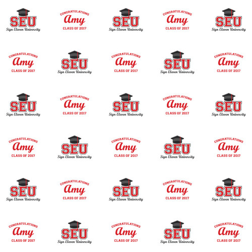 Graduation Step and Repeat 1093