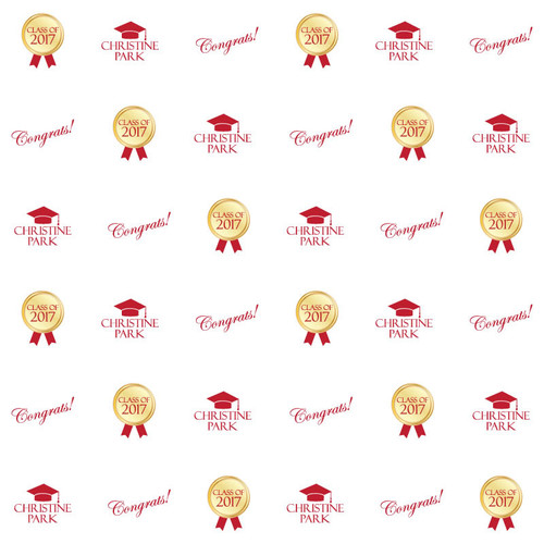 Graduation Step and Repeat 1087