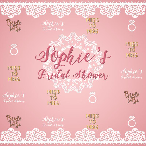 Bridal Shower Backdrop