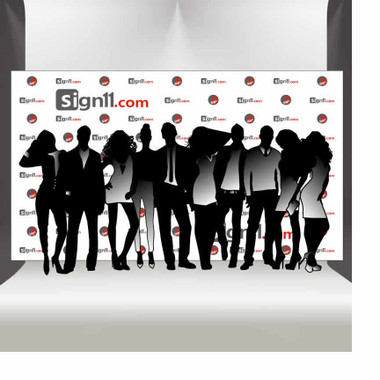 step and repeat banner 14 x8 sign11 com