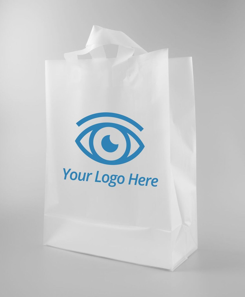 Frosted Shopper Bag | MH Eye Care Product