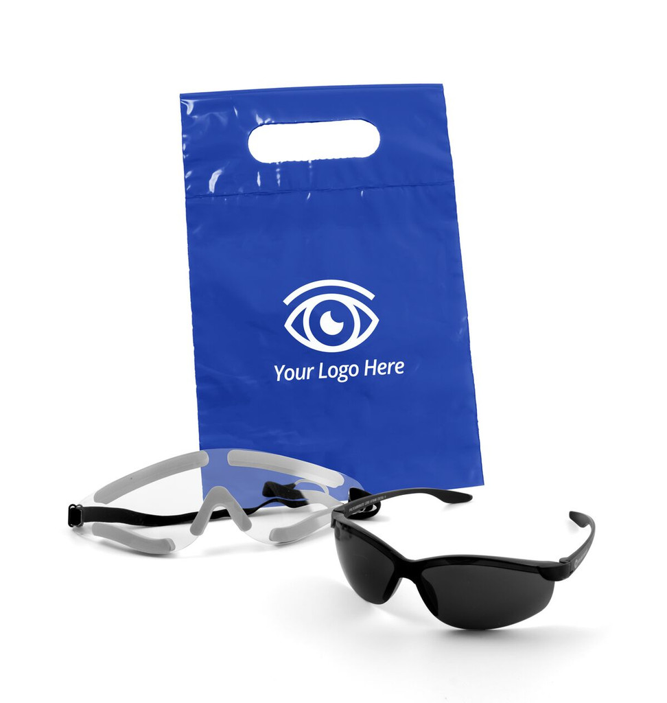 Die Cut Handle Bag - LASIK Post-Op Kit | MH Eye Care Product