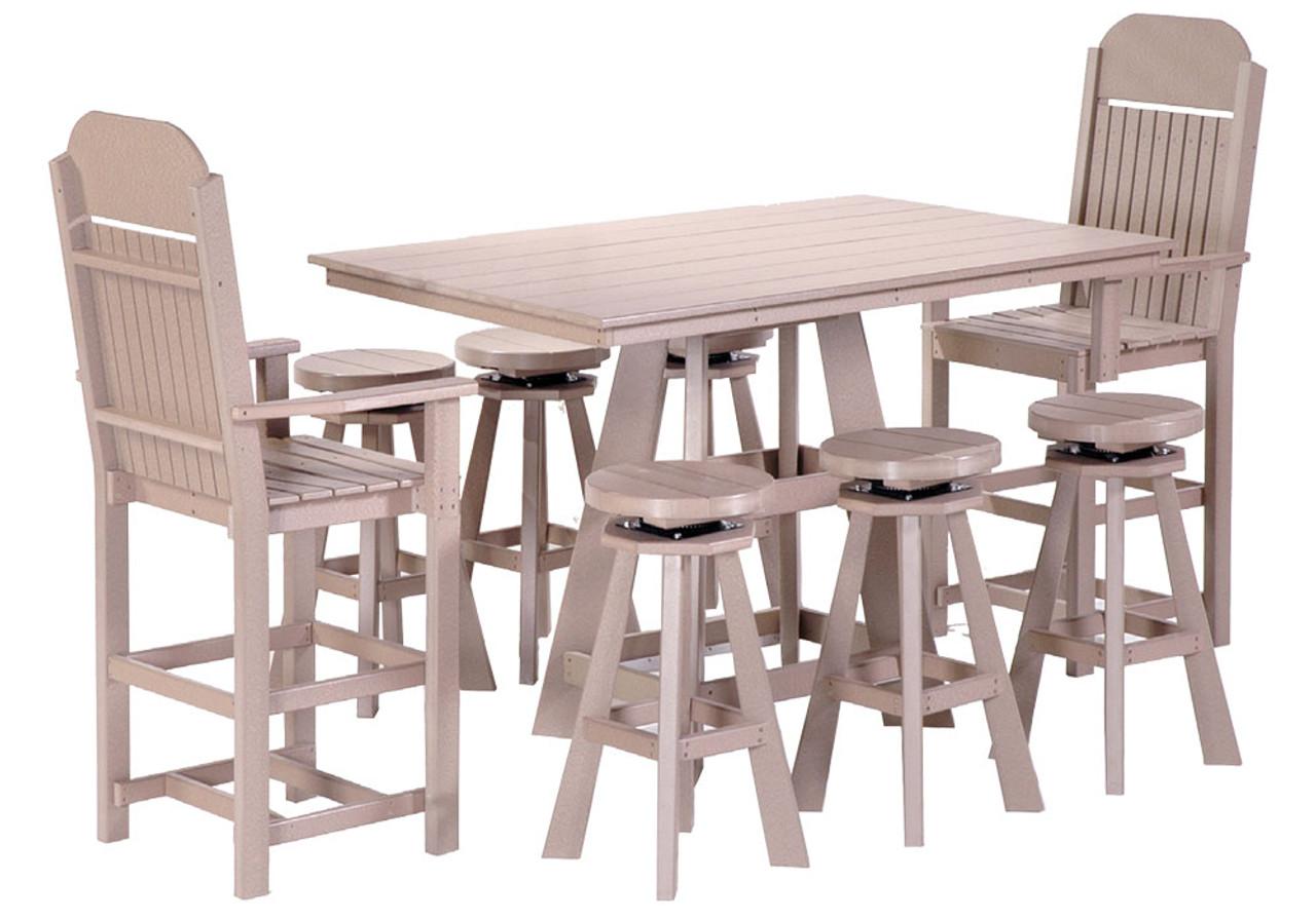 Poly Pub Table Set 30
