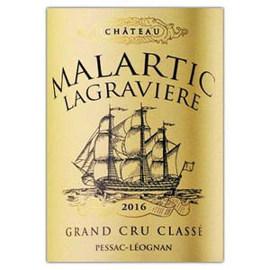Chateau Malartic Lagraviere Red 2016