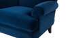 Clarence Lawson Chair, Navy Blue