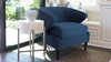 Sophia Accent Chair, Midnight Blue