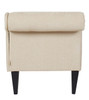 Harrison Tufted Chaise Lounge, Beige