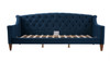 Lucy Sofa Bed, Satin Teal