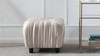 Gracie Decorative Ottoman, Off-White