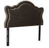 Legacy Upholstered Headboard, Grey (Queen Size)
