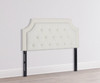 Kaye Tufted Headboard, Antique White (Queen Size)
