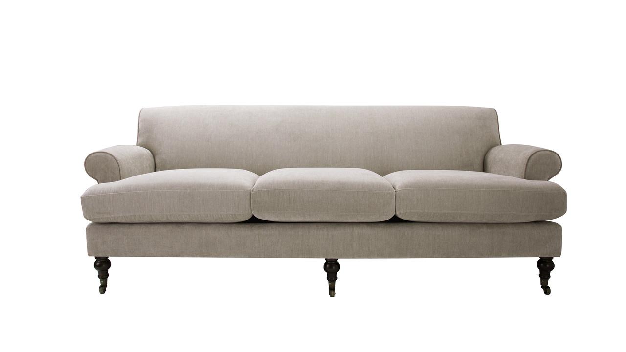Alana Lawson Sofa, Silver Grey - Jennifer Taylor Home