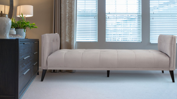 Reese Tufted Sofa Bed, Dove Grey