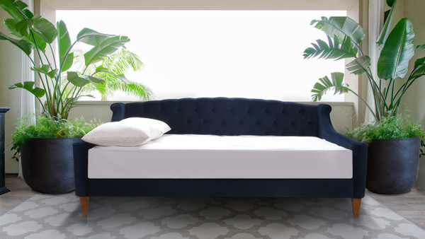 Lucy Sofa Bed, Dark Navy Blue