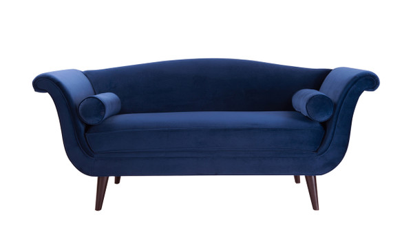 Perfect Charlotte Camel Back Settee, ...