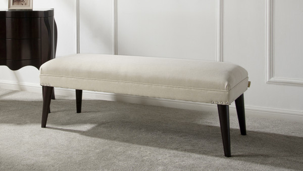 Nadine Entryway Bench, Oyster Grey