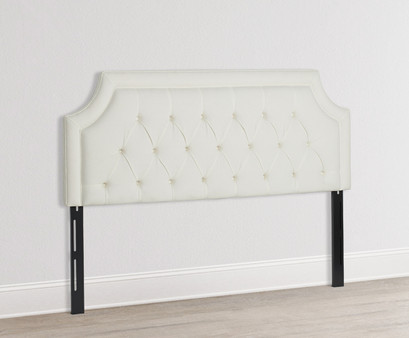 Kaye Tufted Headboard, Antique White (King Size)