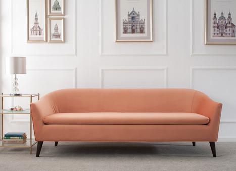 Lia Mid-Century Modern Sofa