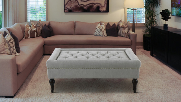 Giselle Accent Bench, Mineral Grey