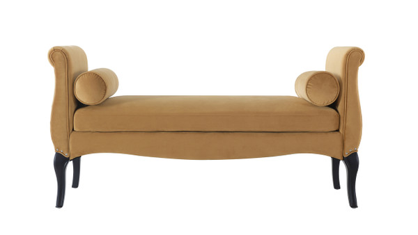 Olivia Roll Arm Entryway Bench ...