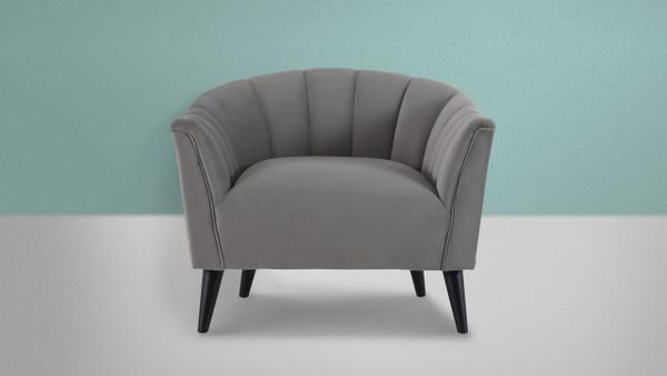 Sienna Accent Arm Chair, Opay Grey