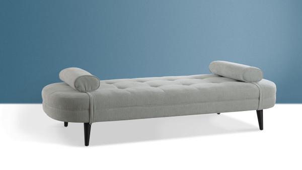 Brio Tufted Sofa Bed, Mineral Grey
