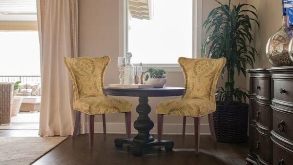 Lorena Accent Parson Chair, Multicolored