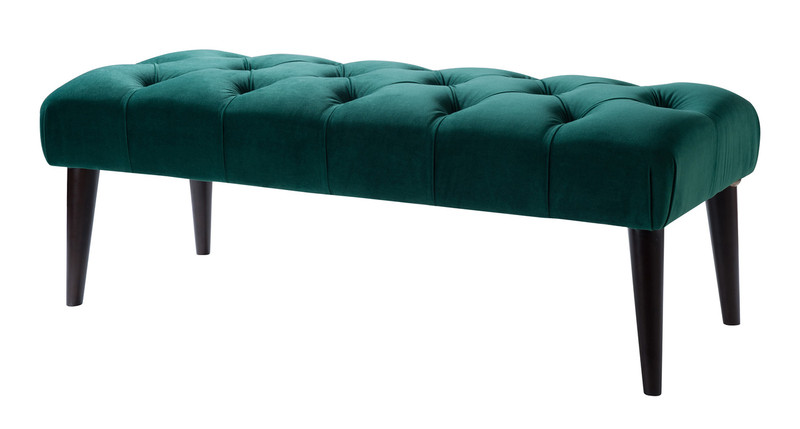 Tufted Foyer Bench : Quinn tufted entryway bench ever green jennifer taylor home