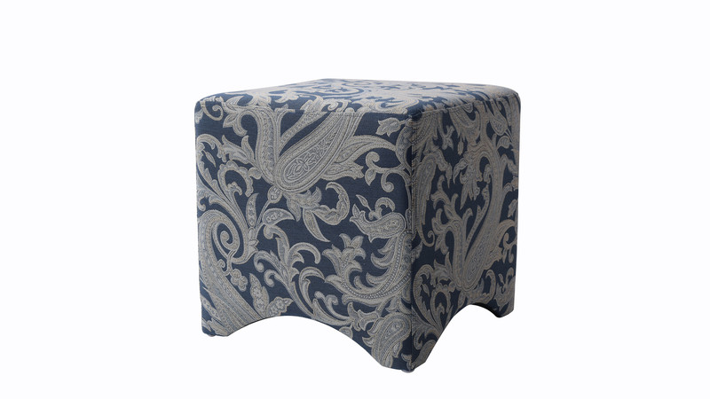 Isaac Accent Cube, Dusty Blue