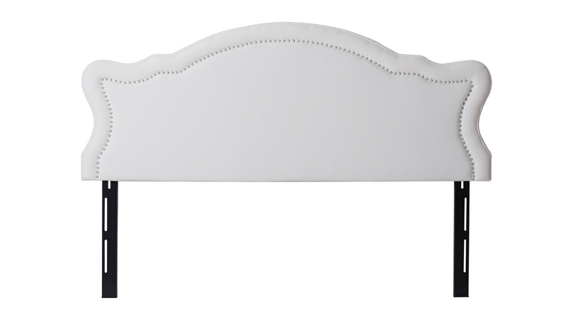 Legacy Upholstered Headboard, Antique White (King Size)
