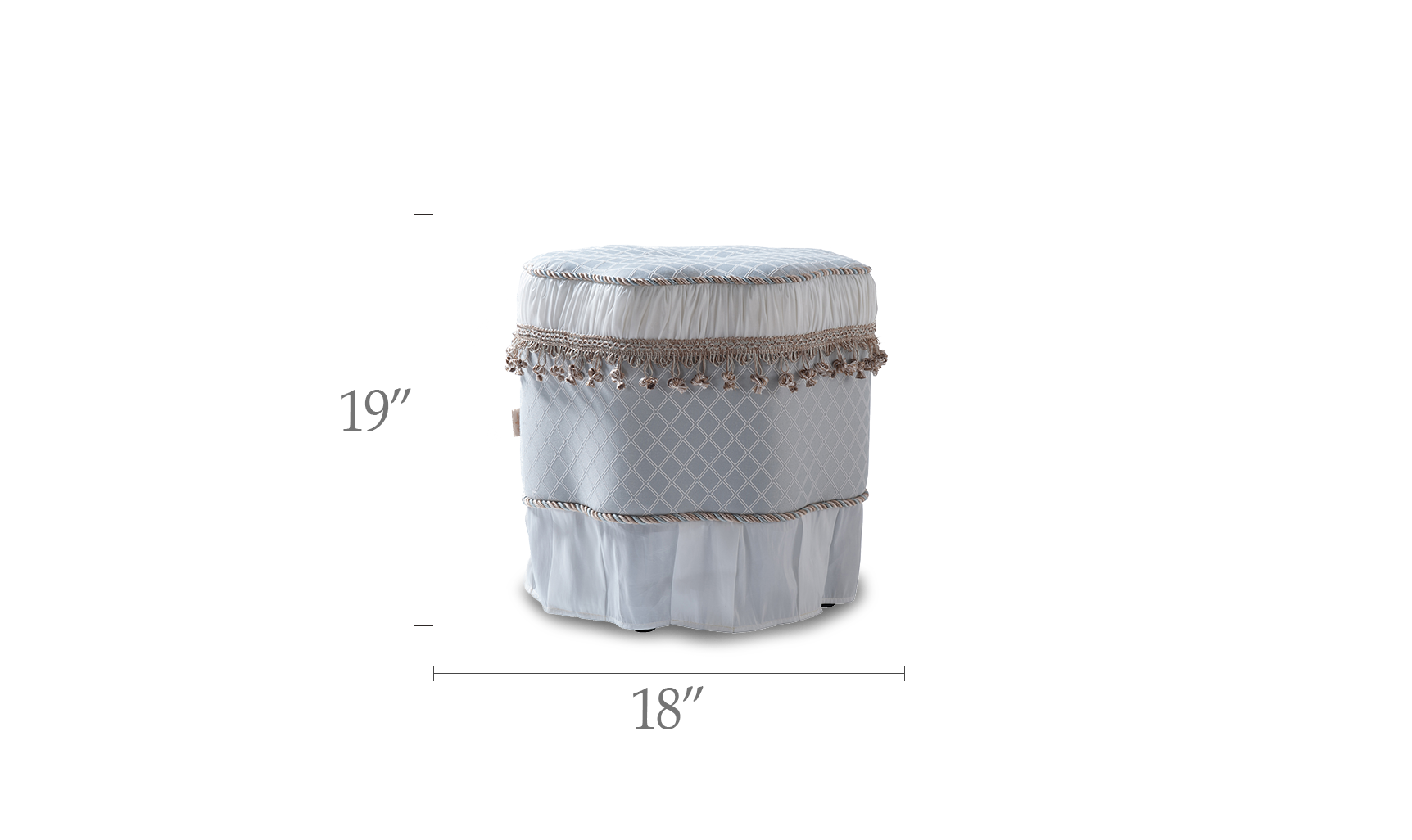 Eleanor Decorative Ottoman