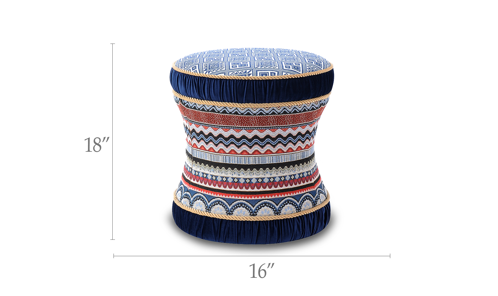 Leona Decorative Vanity Stool