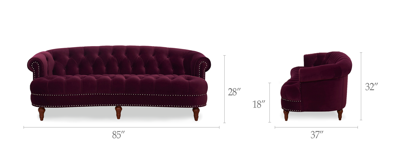 La Rosa Chesterfield Sofa