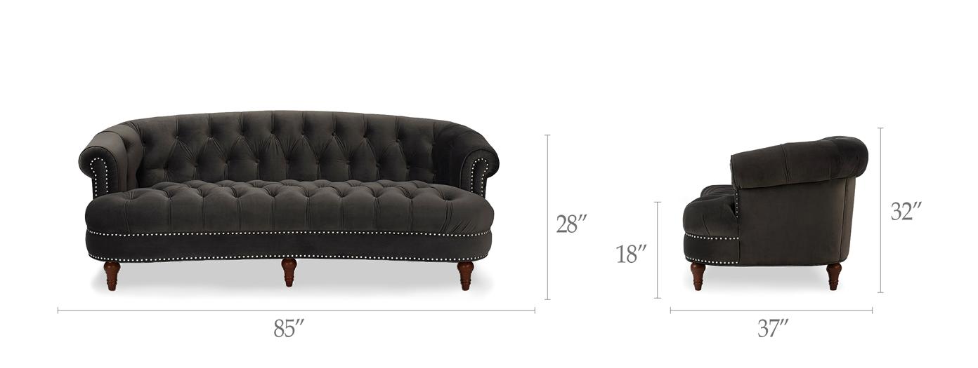 La Rosa Chesterfield Sofa