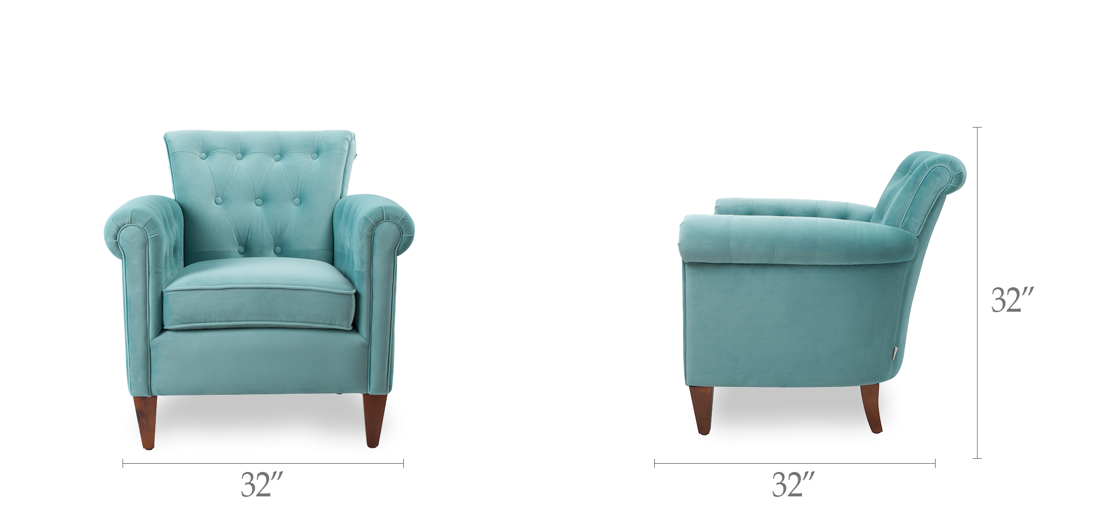 Giovanni Tufted Accent Chair