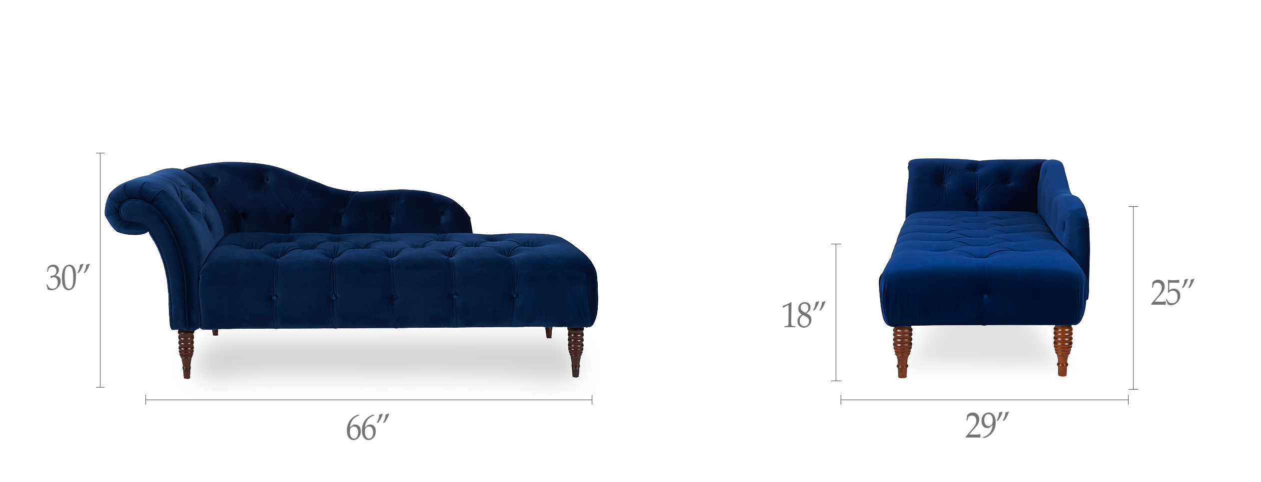 Samuel Tufted Chaise Lounge