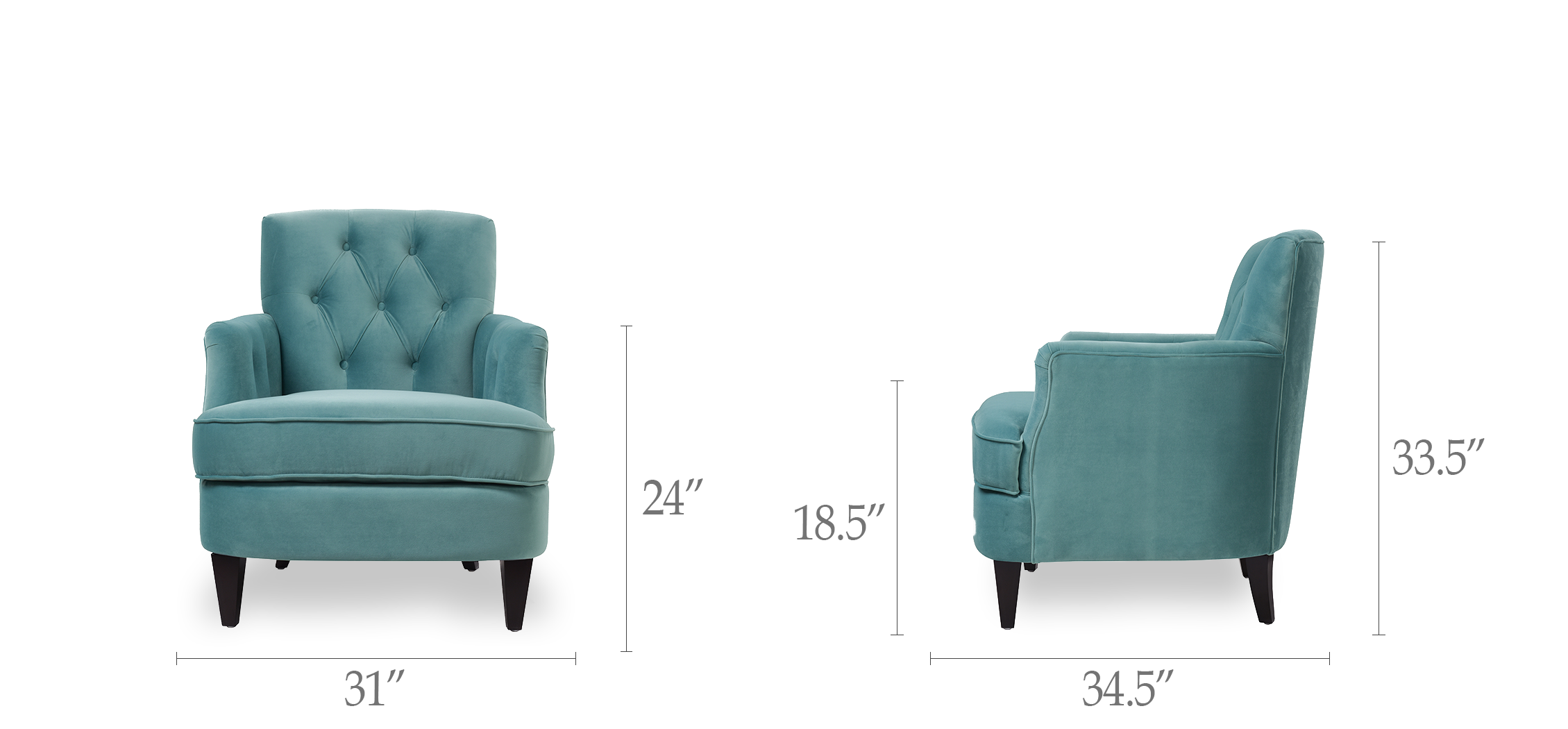 Kelly Tufted Accent Chair