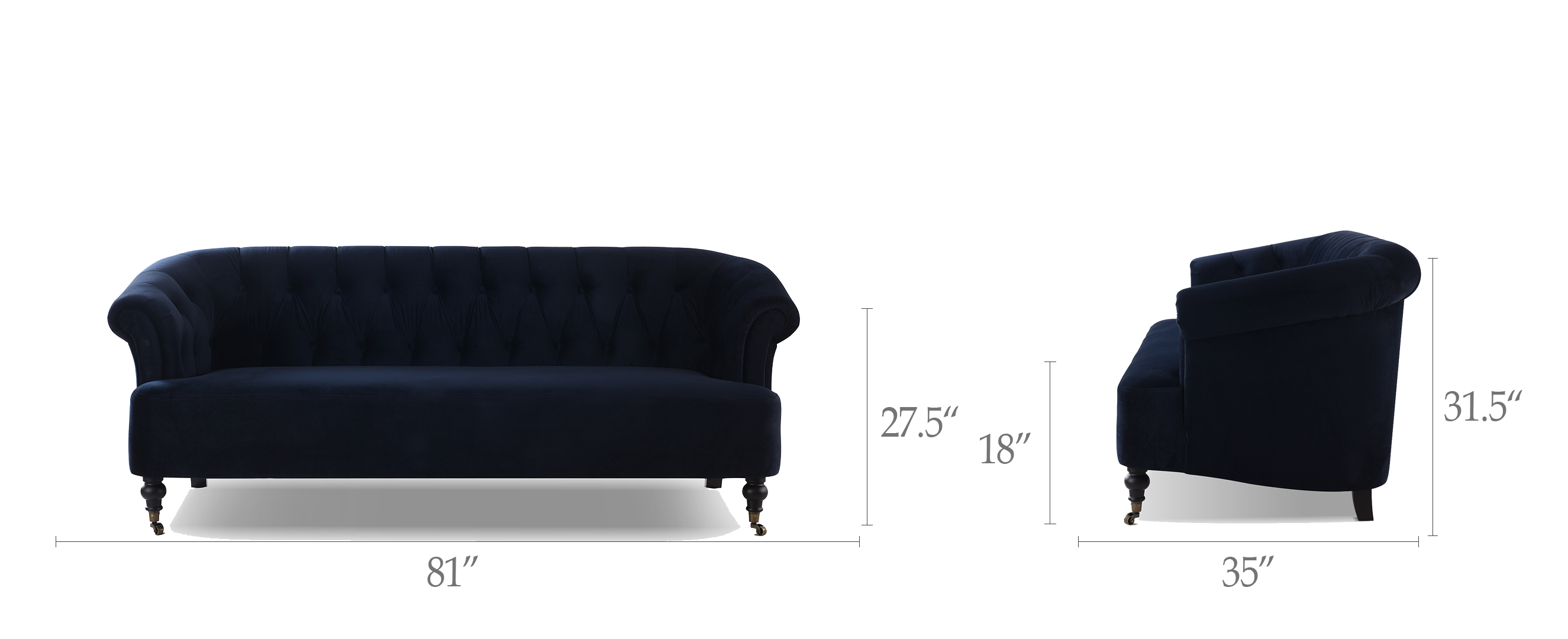 Maxine Tufted Upholstered Sofa