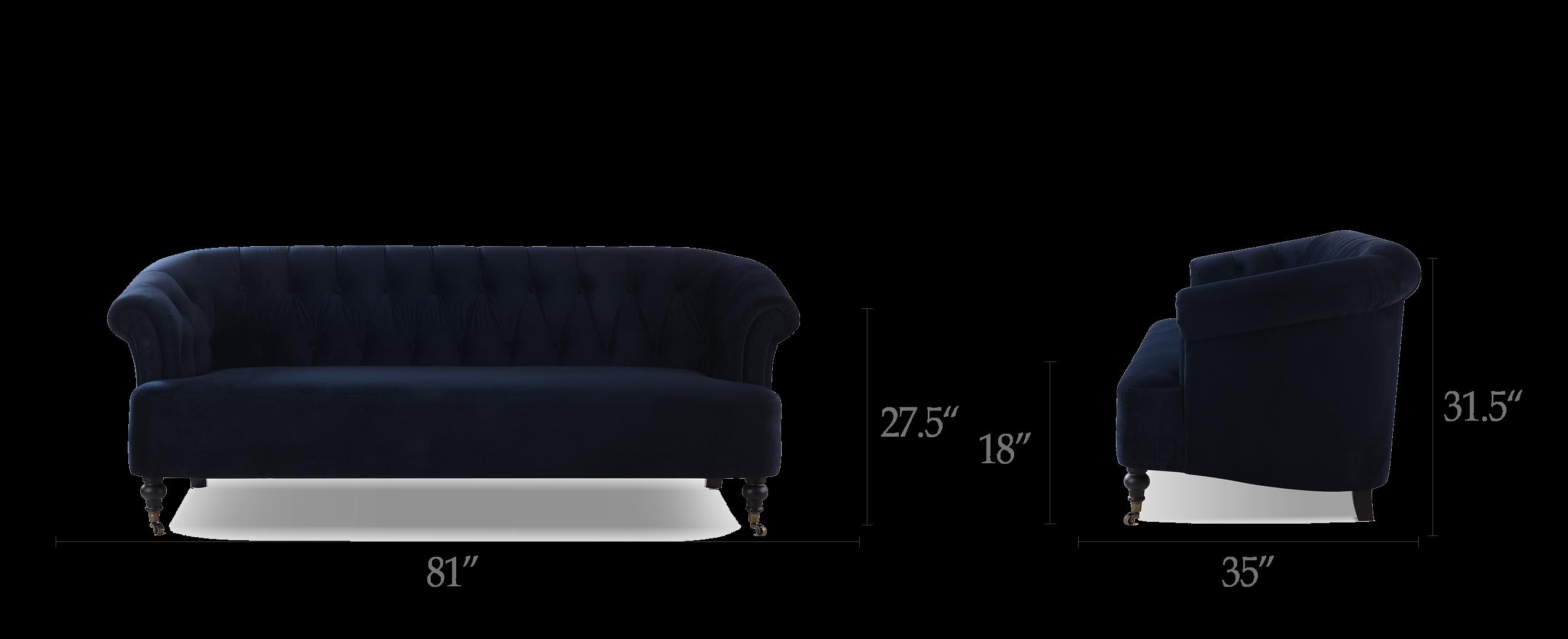 Maxine Tufted Upholstered Sofa