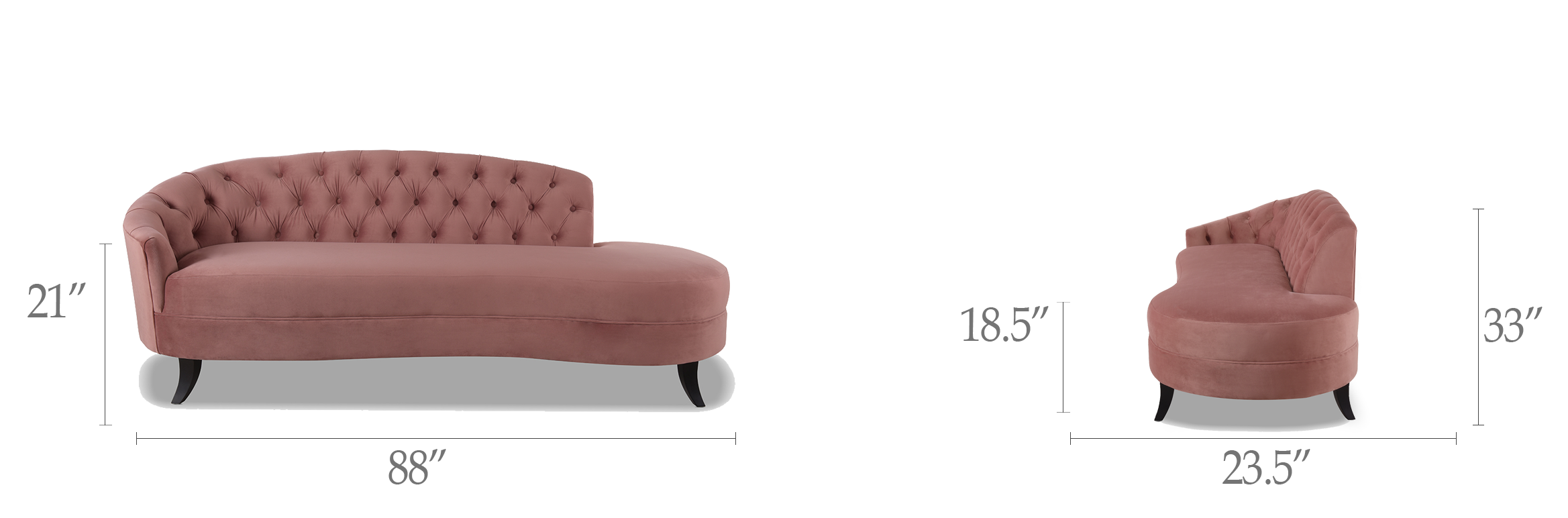 Delaney Chaise Sofa