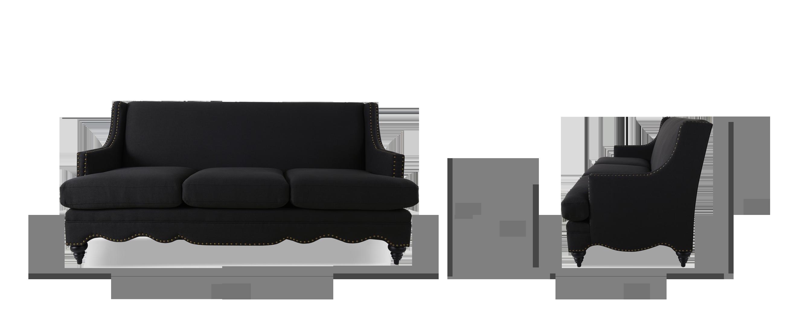 Marisole Recessed Sofa