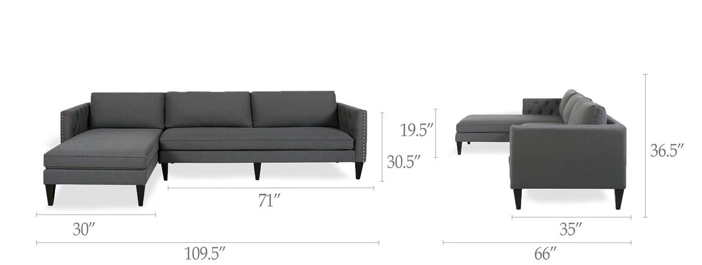 Mason Reversible Chaise Sectional